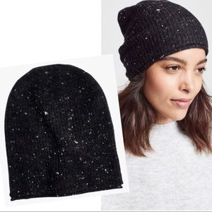 Madewell Black hat / beanie made from wool OS NWT